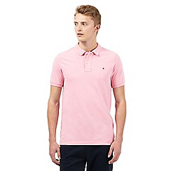 Tommy Hilfiger - Pink short sleeve polo shirt