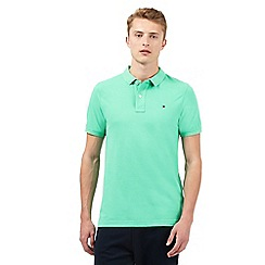 Tommy Hilfiger - Green short sleeve polo shirt