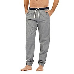 Tommy Hilfiger - Grey herringbone print pyjama bottoms