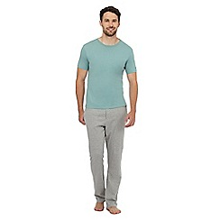 Tommy Hilfiger - Grey jersey t-shirt and trousers pyjama set