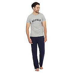 Tommy Hilfiger - Grey logo t-shirt