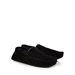 Totes - Grey memory foam moccasin slippers