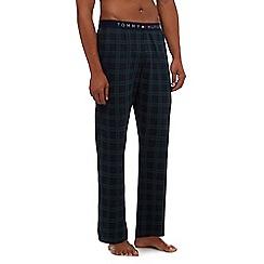 Tommy Hilfiger - Green check print pyjama bottoms