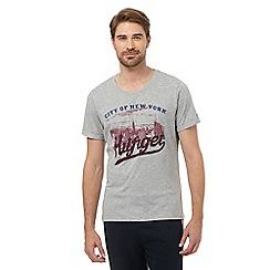 Tommy Hilfiger - Grey 'NYC' t-shirt