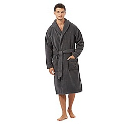 Tommy Hilfiger - Grey towelling bath robe