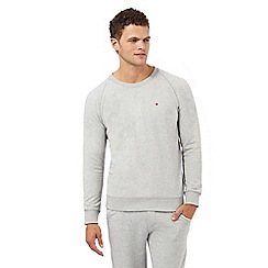 Tommy Hilfiger - Grey crew neck jumper