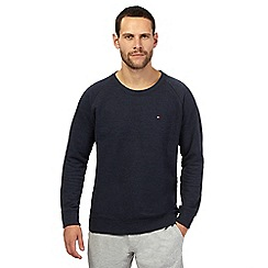 Tommy Hilfiger - Navy cotton rich jumper