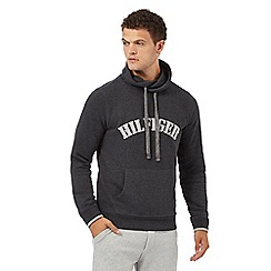 Tommy Hilfiger - Grey funnel neck hoodie