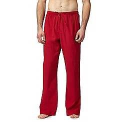 Calvin Klein - Red check print pyjama pants