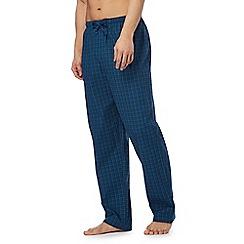 Calvin Klein - Blue check print pyjama pants