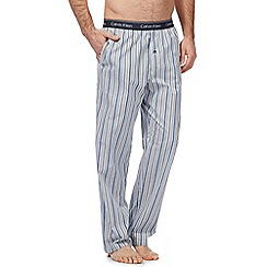 Calvin Klein - Blue striped print pyjama bottoms