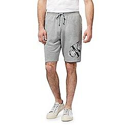 Calvin Klein - Grey logo print shorts