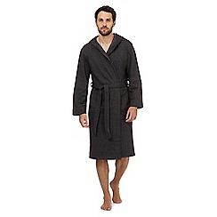 RJR.John Rocha - Grey jersey dressing gown