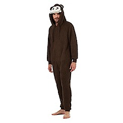 Mantaray - Chocolate monkey onesie