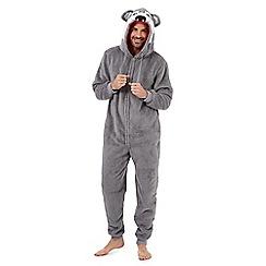 Mantaray - Grey husky onesie