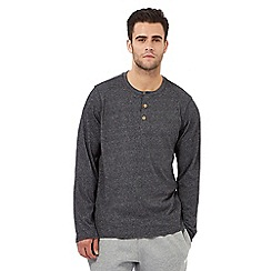 RJR.John Rocha - Dark grey grandad top