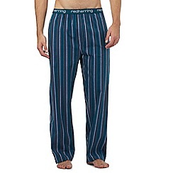 Red Herring - Turquoise striped pyjama bottoms