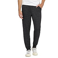 Red Herring - Grey ribbed cuff joggers