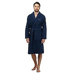 Gant - Blue terry robe