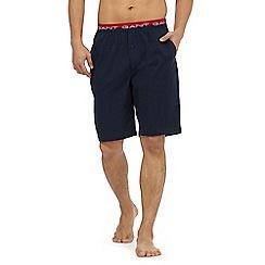 Gant - Navy jersey pyjama shorts