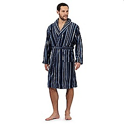 RJR.John Rocha - Blue striped dressing gown