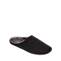 RJR.John Rocha - Black mule slippers
