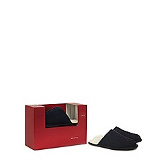 Image result for RJR.John Rocha Navy suede mule slippers in a gift box