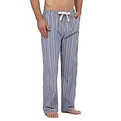 RJR.John Rocha - Light blue striped print pyjama bottoms