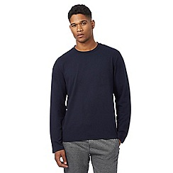 Hammond & Co. by Patrick Grant - Big and tall navy crew neck top
