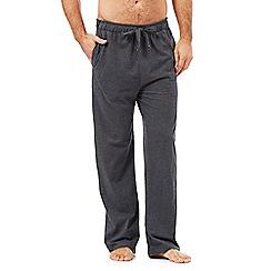 RJR.John Rocha - Designer dark grey jersey pants