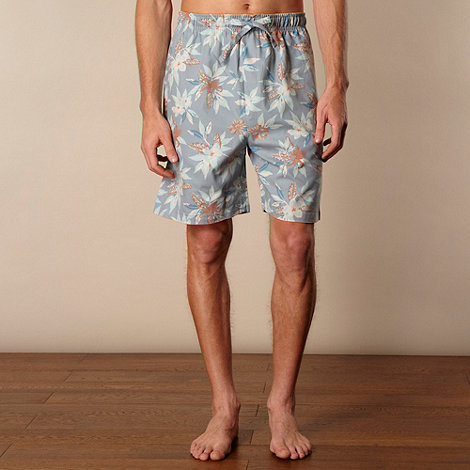 Mantaray - Blue printed shorts pack of 2