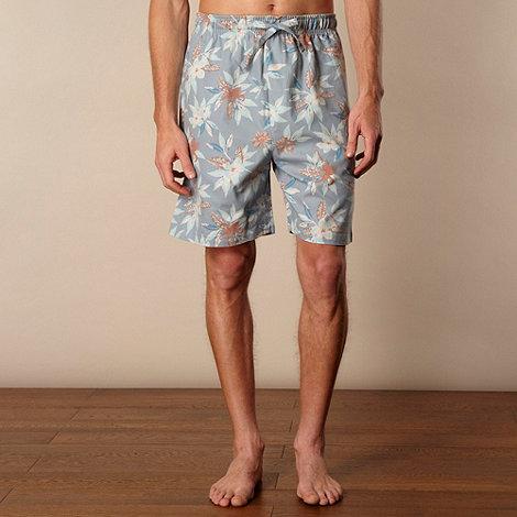 Mantaray - Blue printed shorts pack of 2