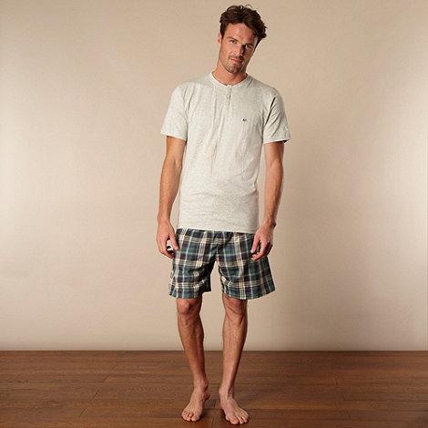 Mantaray - Grey T-shirt and shorts set