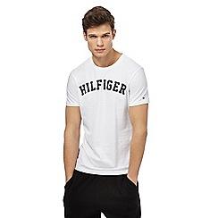 Tommy Hilfiger - White logo print t-shirt