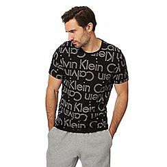 Calvin Klein - Black logo print t-shirt