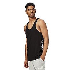 Calvin Klein - Black logo print vest