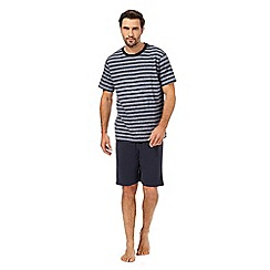 Maine New England - Navy striped pyjama set
