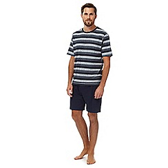 Maine New England - Navy striped pyjamas
