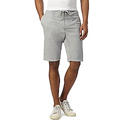 Hammond & Co. by Patrick Grant - Big and tall grey pique shorts
