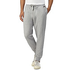 Hammond & Co. by Patrick Grant - Big and tall grey pique jogging bottoms