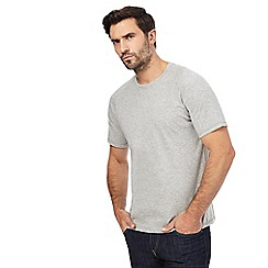 Hammond & Co. by Patrick Grant - Big and tall light grey marl t-shirt