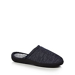 Totes - Blue denim mule slippers