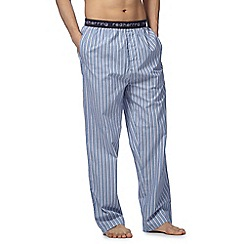 Red Herring - Blue striped pyjama bottoms