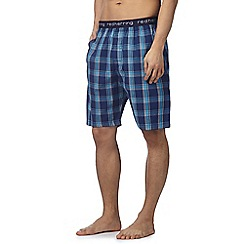 Red Herring - Blue striped pyjama shorts