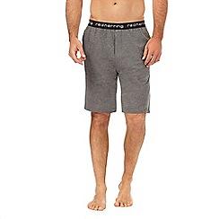 Mantaray - Grey jersey pyjama shorts