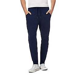 Red Herring - Big and tall navy loopback cuffed joggers