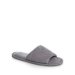 Maine New England - Grey mule slippers