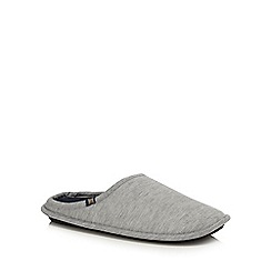 Hammond & Co. by Patrick Grant - Grey mule slippers