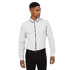 Red Herring - White hexagon shirt