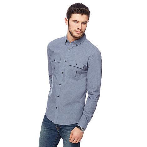 Firetrap - Blue chambray shirt